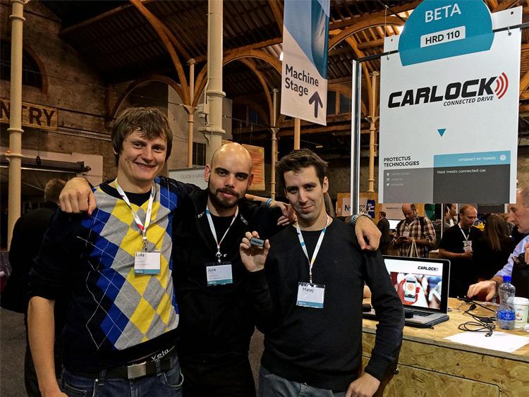 CarLock Team at Web Summit 2014