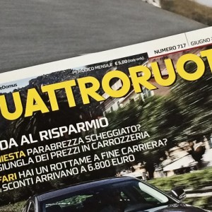 CarLock Review in Italian Quattroruote Magazine