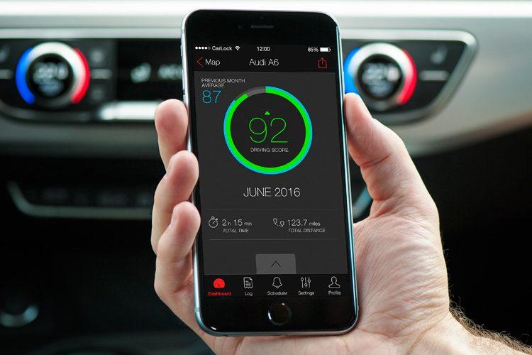 CarLock App 3.0 Dashboard