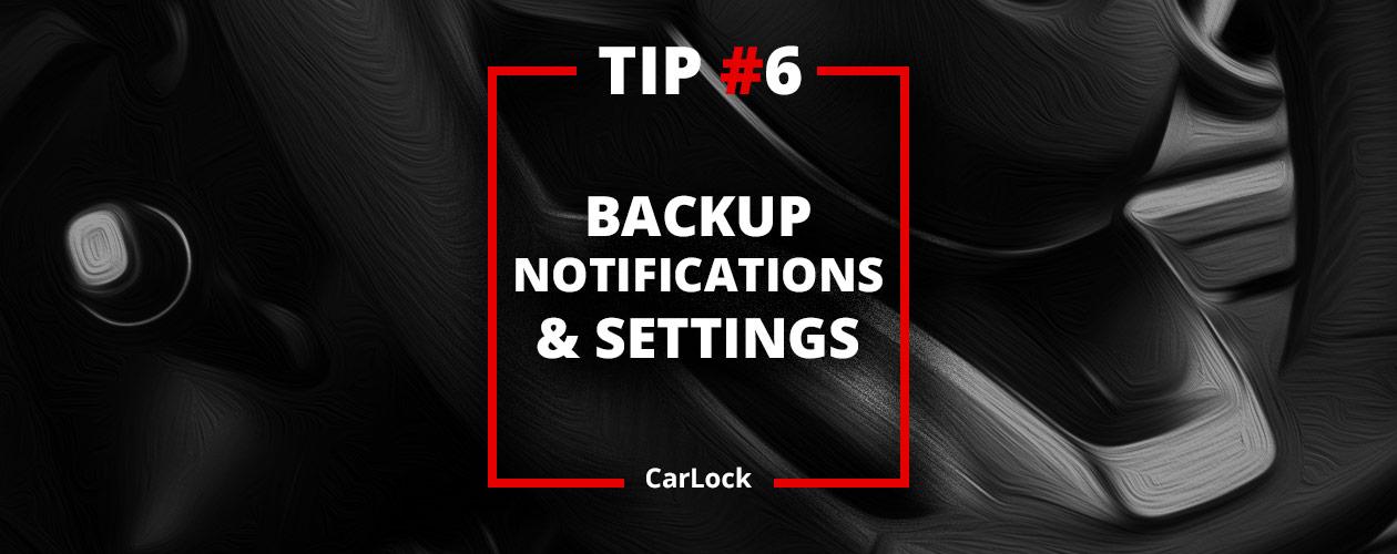 CarLock Tip #6