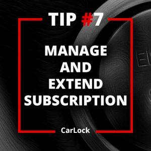 CarLock Tip #7
