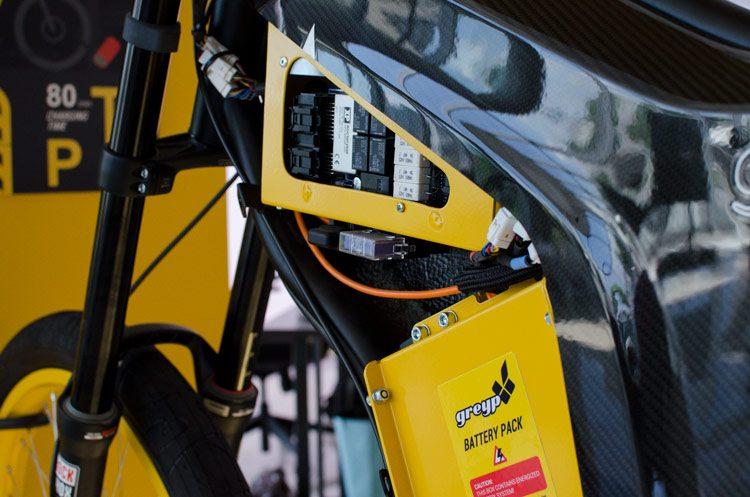 Rimac Greyp Bike Interior