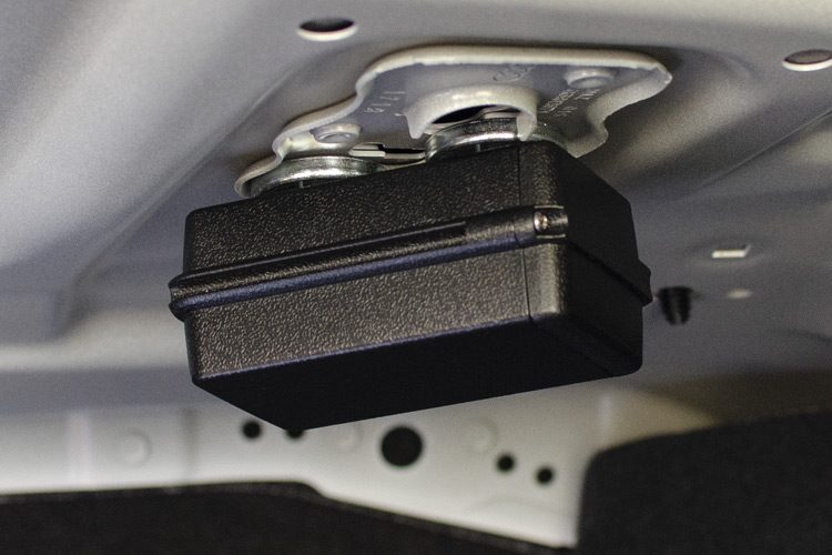 CarLock Portable magnetic case placement