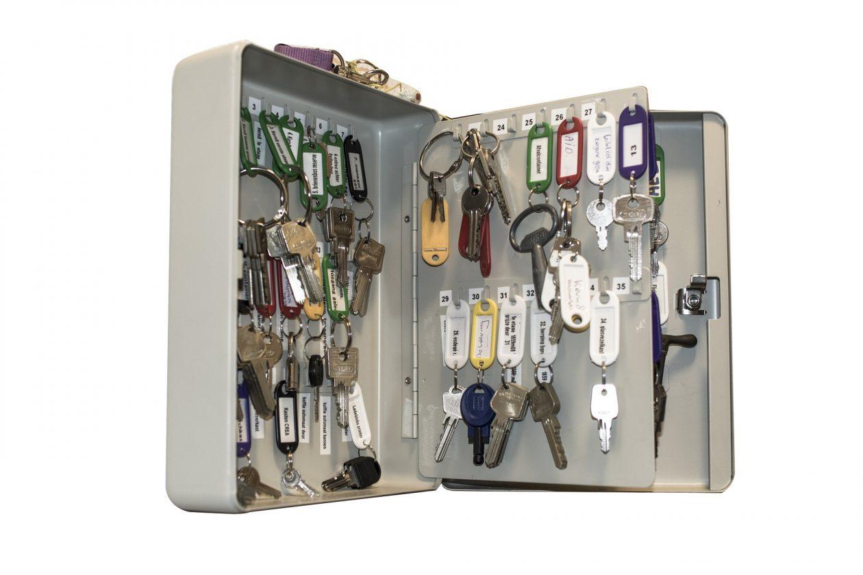 metal key cabinet