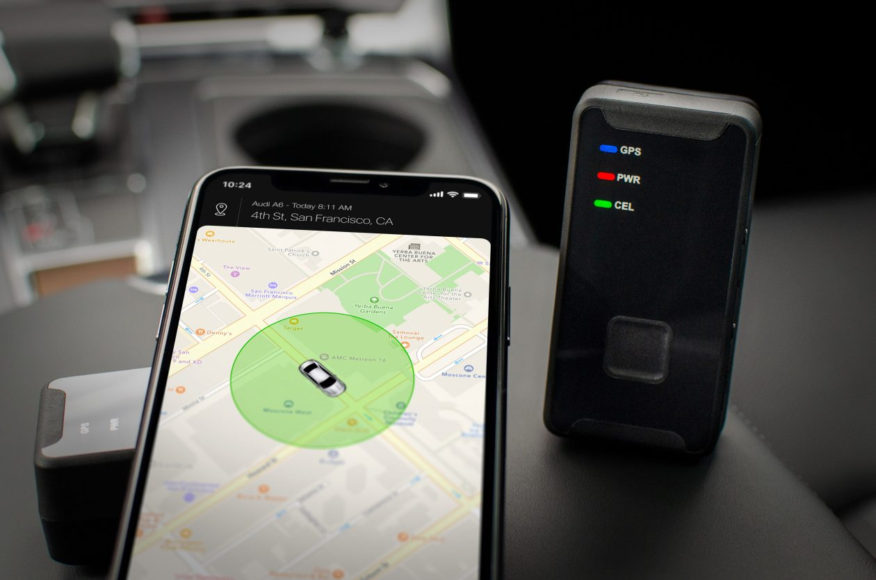 portable car tracker