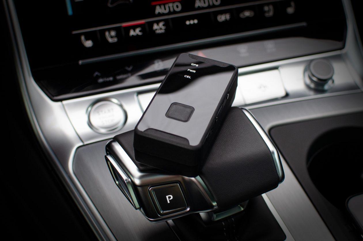 battery-powered GPS car tracker